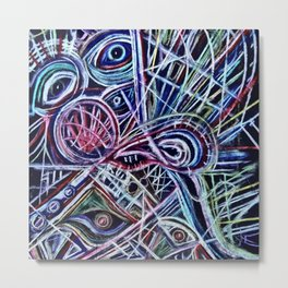 Eyes on a dancefloor Metal Print