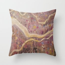 His Banner Over Me is Love Throw Pillow