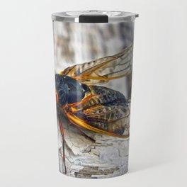 Red Eyed Cicada Travel Mug