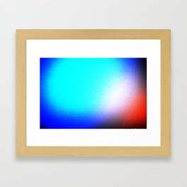 Something in my eyes. Framed Art Print