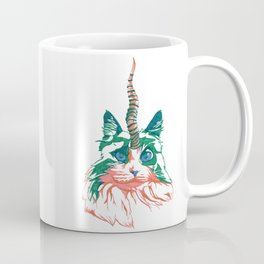 Fluffy Unicat Coffee Mug