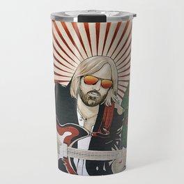 Wildflowers (Tom Petty Tribute Mural, Gainesville) Travel Mug