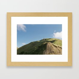 Lonely Hill Framed Art Print