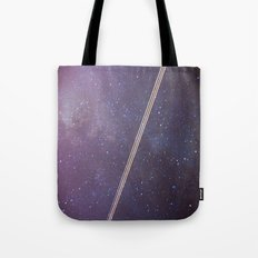 Boeing through the Milky Way Tote Bag