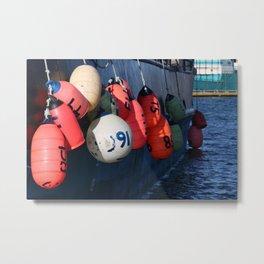 Fishing Buoy Photography Print Metal Print