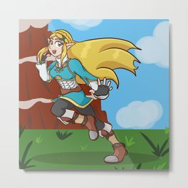 Princess of the Wild Metal Print