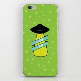 Headed Home UFO: Green iPhone Skin