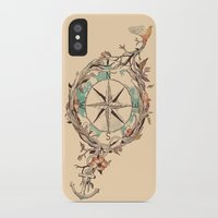 bon iver iPhone & iPod Cases featuring Bon Voyage by Norman Duenas