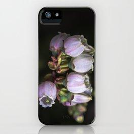 Blueberry Bells iPhone Case