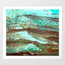 Abstract Annemarie Art Print