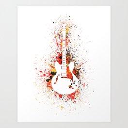 Guitar Heroes - Chuck Berry  Art Print