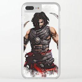 Prince of Persia Clear iPhone Case