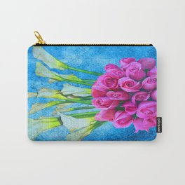 Calla Lillies and Roses Carry-All Pouch