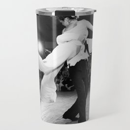 Tango in Black Travel Mug