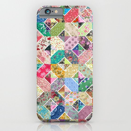 Betty's Diamond Quilt iPhone & iPod Case