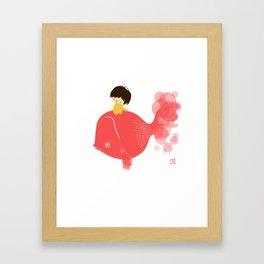 The Gold Fish Framed Art Print