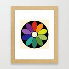 James Ward's Chromatic Circle (interpretation) Framed Art Print