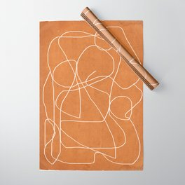 Abstract line art 17 Wrapping Paper