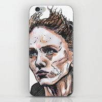 depeche mode iPhone & iPod Skins featuring Mode by Meredith Mackworth-Praed