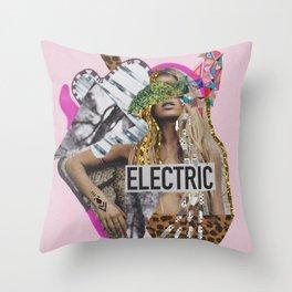 ELECTRIC FANTA-SIA  Throw Pillow