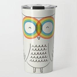 RainbOwl Travel Mug