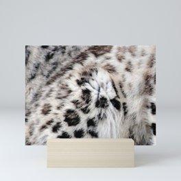 Snow Leopard Mini Art Print
