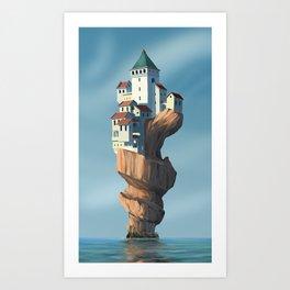 Auger City Art Print