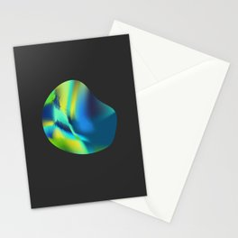 Abstract lights II Stationery Cards