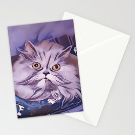 The Persian Cat Stationery Cards