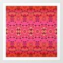 Pink Haze Bandana Ombre' Stripe by ninamay