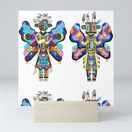 Kachina Butterfly 2 Mini Art Print