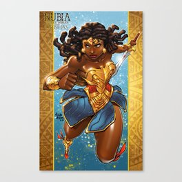Nubia-WW of the Orishas Canvas Print