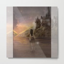 Hogwarts is our home Metal Print