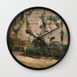 Eclectic Wall Clock