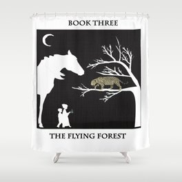 The Flying Forest Shower Curtain
