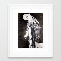okami Framed Art Prints featuring Okami by Rōō Hattori