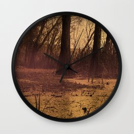 The fall The fog The swamp the drama Wall Clock