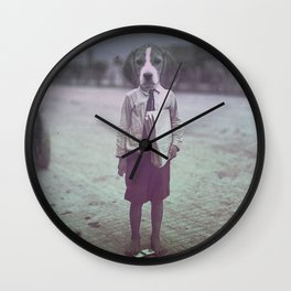 Beagle Boy Wall Clock