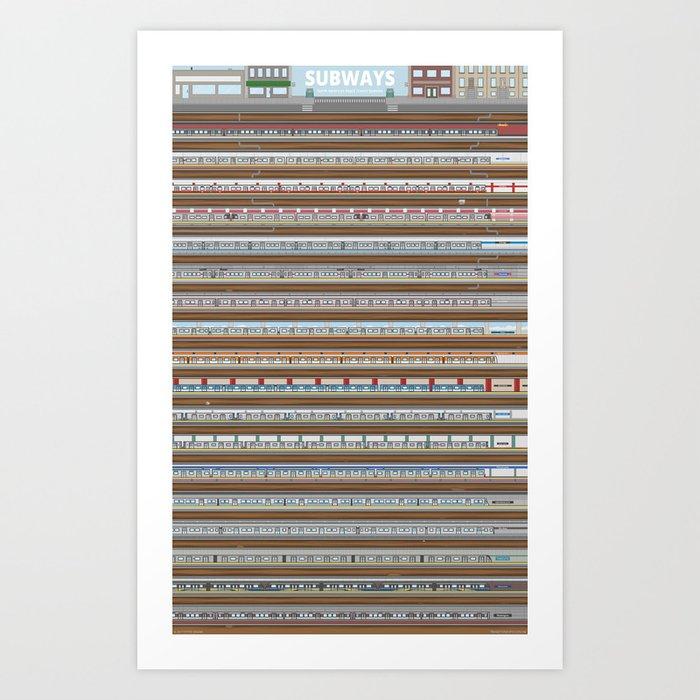 Subways: North America's Rapid Transit Systems Art Print