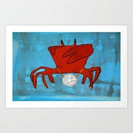 Ghetto Crabulous 2 Art Print