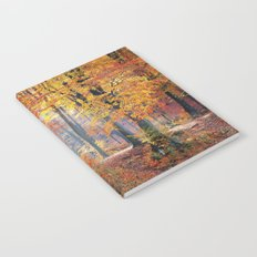 Colorful Autumn Fall Forest Notebook