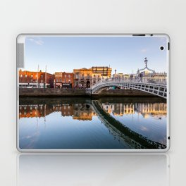 River Liffey Reflections Laptop & iPad Skin