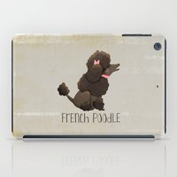 poodle iPad Cases featuring Poodle by 52 Dogs