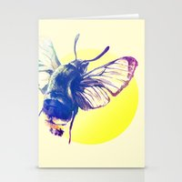 bug Stationery Cards featuring bug by Xenia Pirovskikh