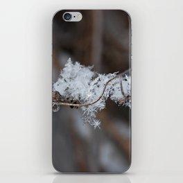 Delicate Snowflake iPhone Skin