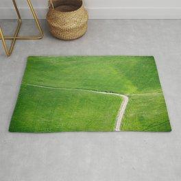 Farm road Rug
