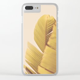 Palm Leaves Clear iPhone Case
