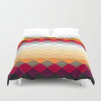 fireworks Duvet Covers featuring Fireworks by Kakel