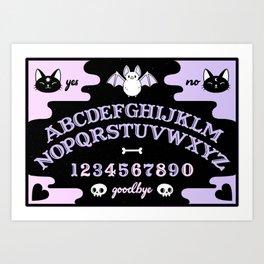 Cute Ouija // Pastel Art Print