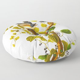 Loggerhead Shrike Bird Floor Pillow